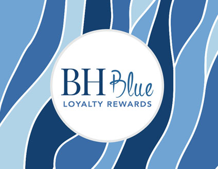 BH Blue Loyalty Rewards | Belcara Health, MD