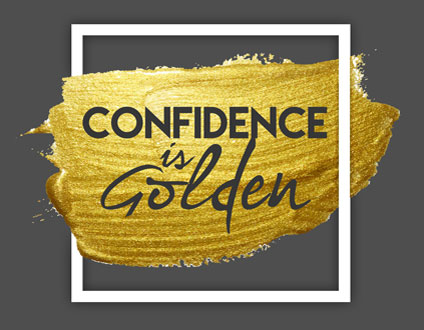 Confidence is Golden