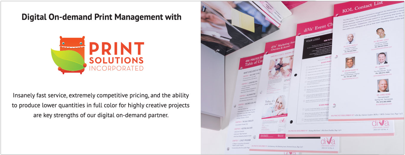 Print Solutions Incorporated Digital On-Demand Print Management