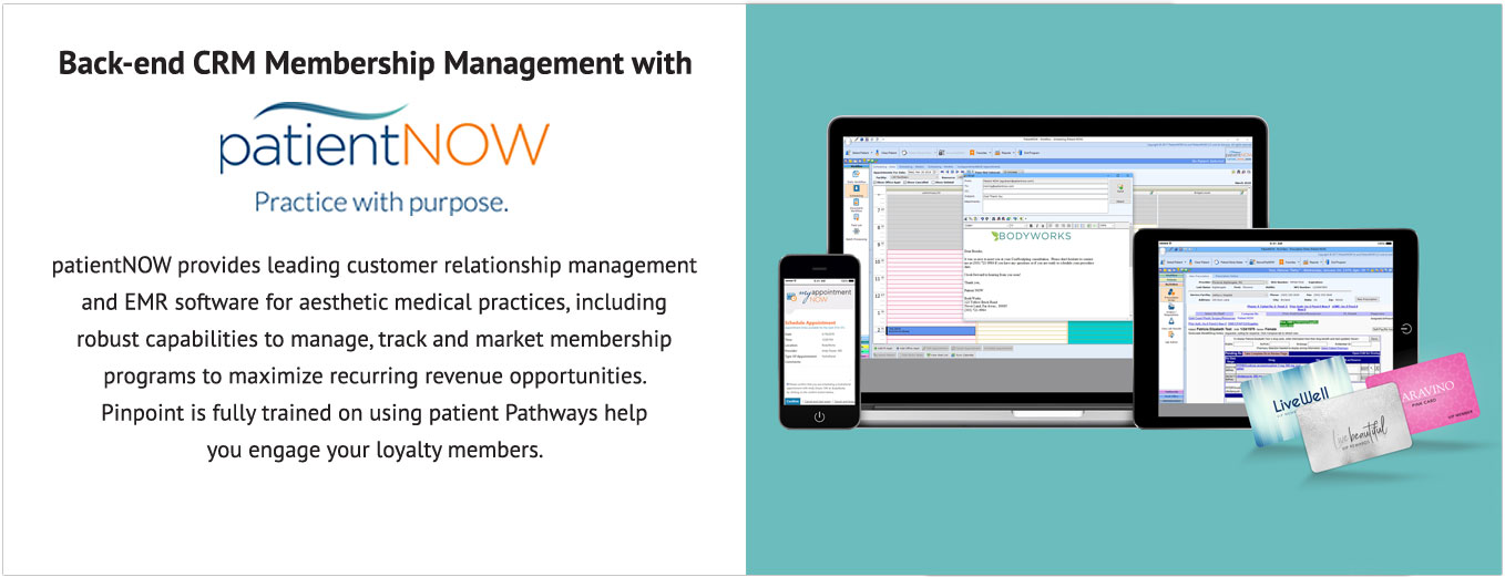 PatientNOW CRM Membership Management